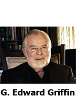 G Edward Griffin producer of chemtrail chemtrails documentary what in the world are they spraying